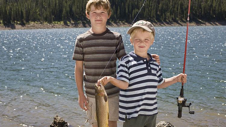 Rescheduled: Kid's Fishing Day