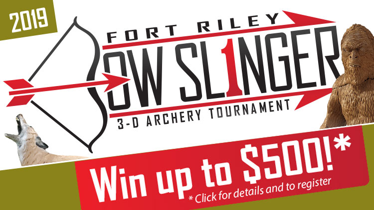 Fort Riley Bow Slinger 3-D Archery Tournament