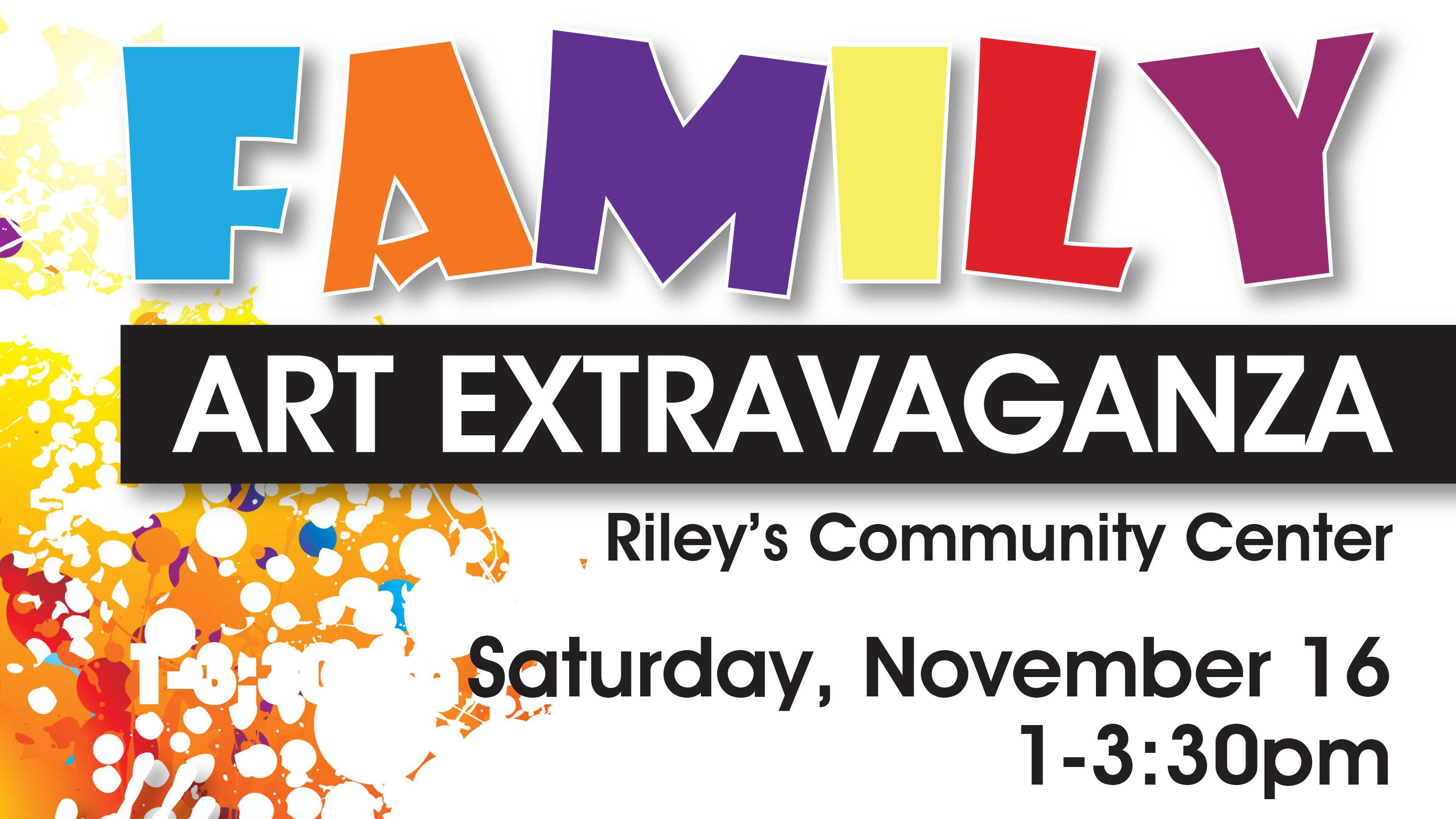 Family Art Extravaganza - Military Family Appreciation Month