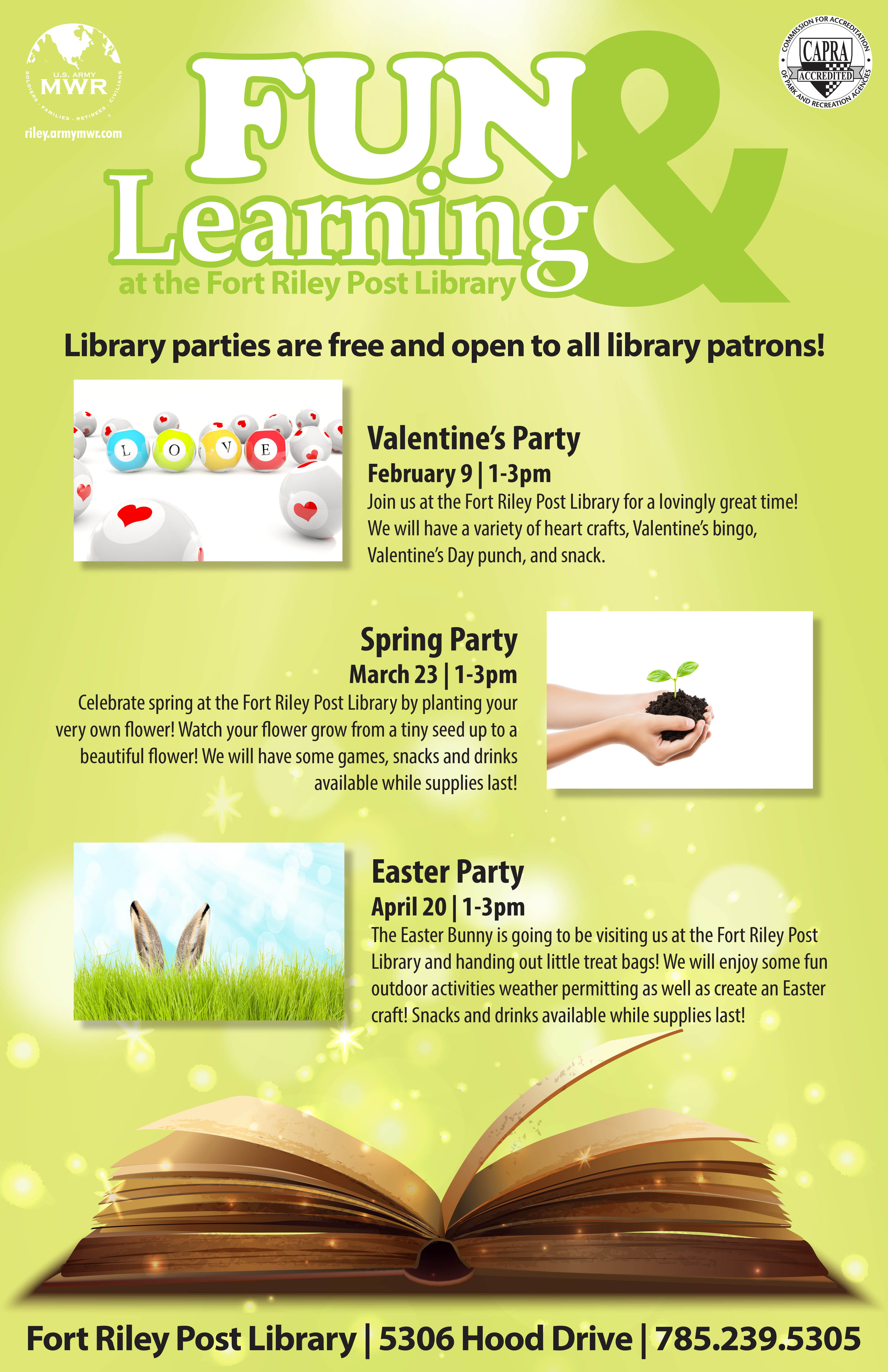 Library Parties
