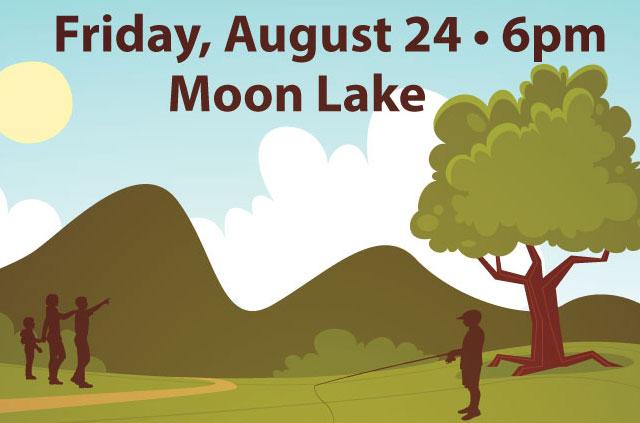 Night at Moon Lake