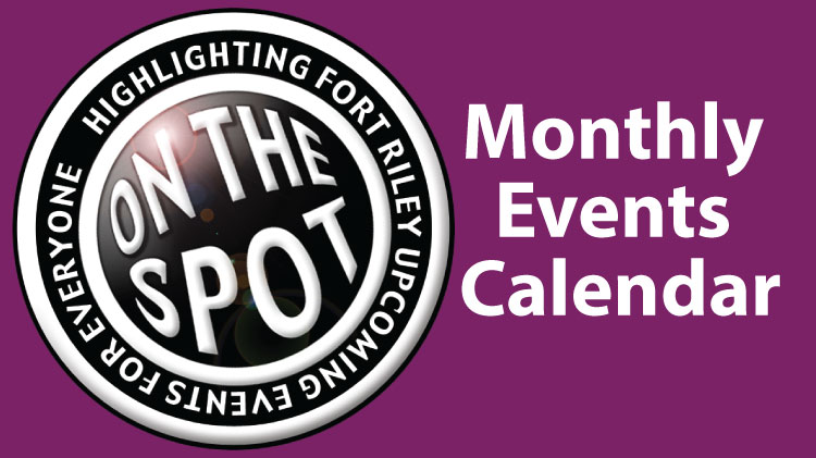 Monthly Calendar of Events