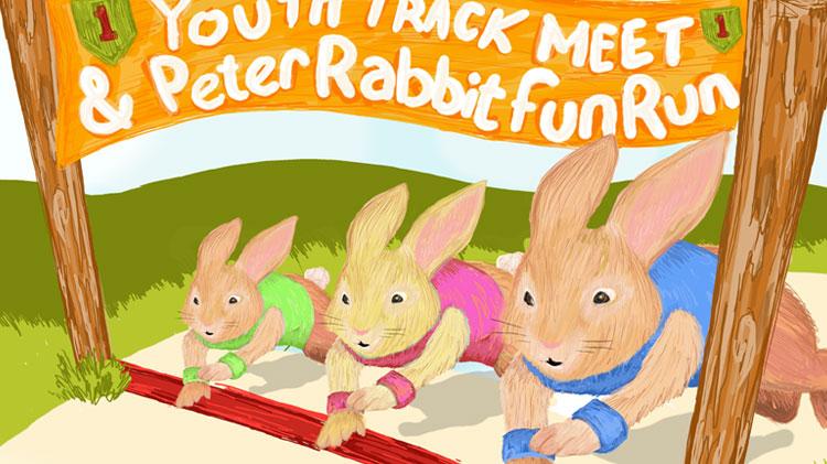 BRO Youth Track Meet & Peter Rabbit Fun Run