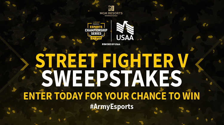 Street Fighter V Sweepstakes
